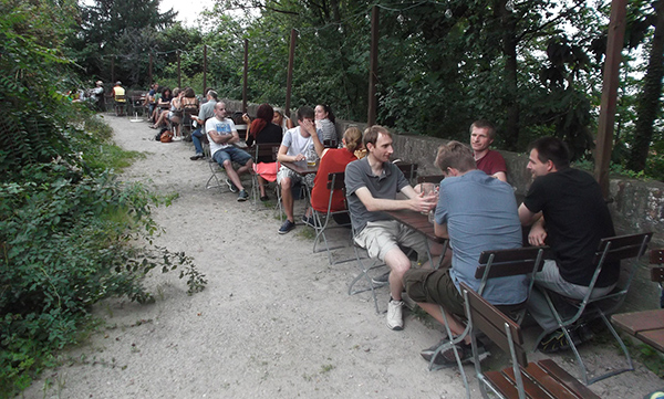 Biergarten Lug ins Land Augsburg