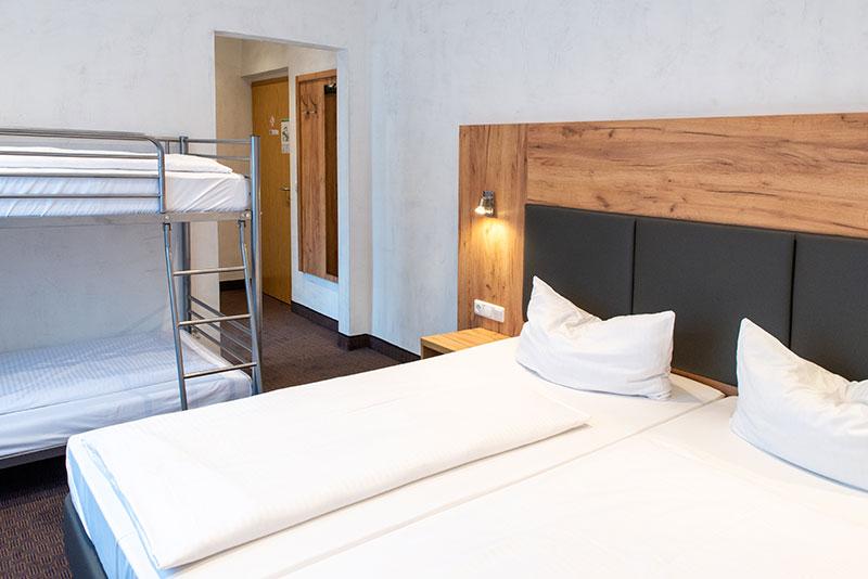 Bedroom for 3 people Augsburg