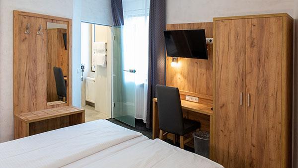 Hotel Fischertor Augsburg Doppelzimmer